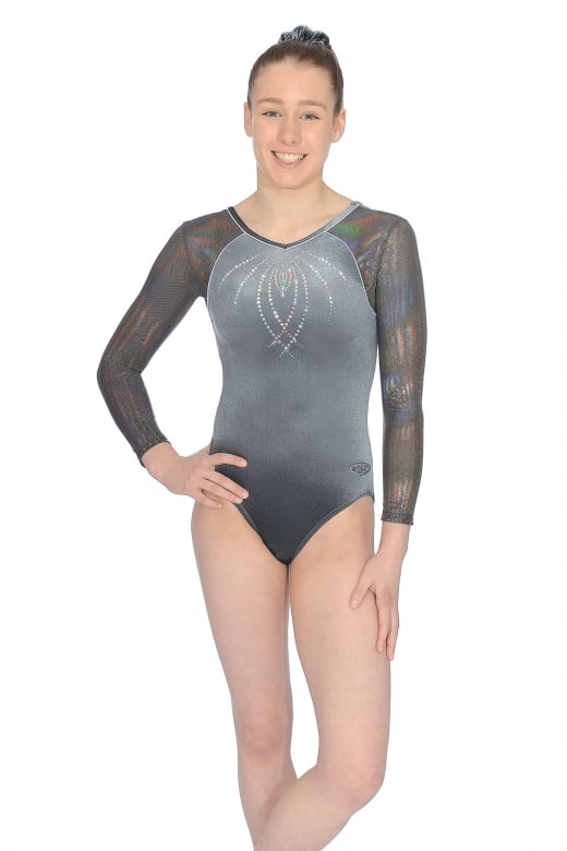 Paris Long Sleeve Gymnastics Leotard