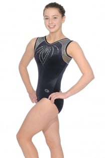 Paris Sleeveless Gymnastics Leotard