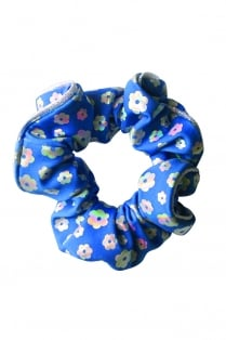 Poppy Hair Scrunchie