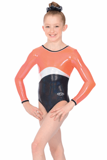Solo Long Sleeve Gymnasts Leotard