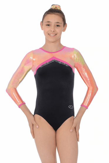 Rebel Long Sleeve Gymnastics Leotard