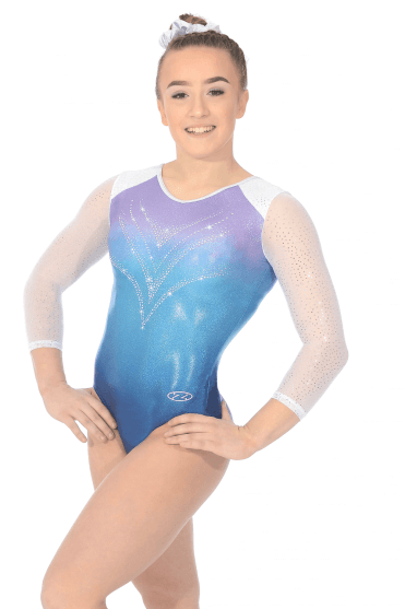28516021a2a7 Long Sleeve Gymnastics Leotards - Free UK Delivery - The Zone