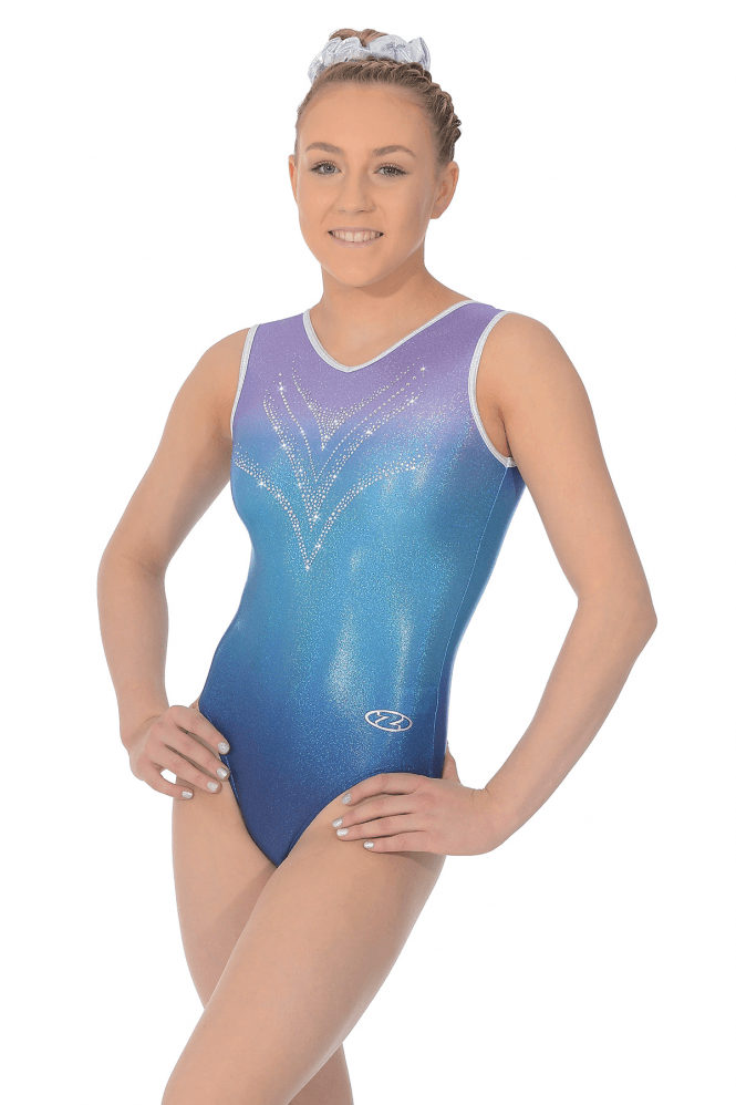 Savannah Sleeveless Gymnastics Leotard