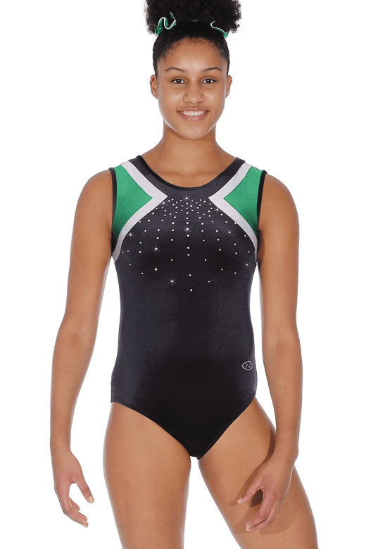 Signature Smooth Velour Sleeveless Leotard