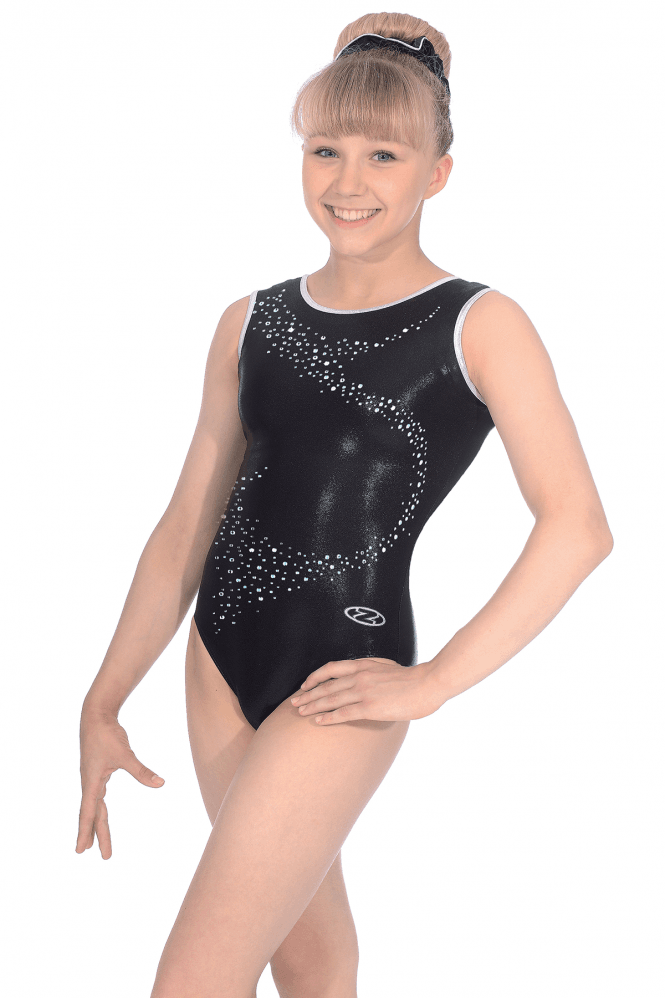 Sleeveless Shine Leotard Motif 1