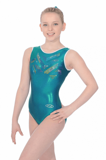 Sleeveless Shine Leotard Motif 2
