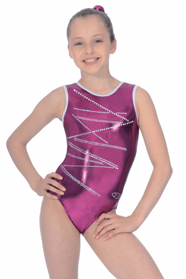 Sleeveless Shine Leotard Motif 4