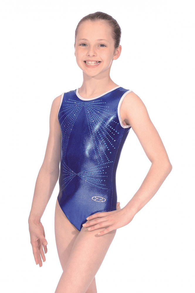 Sleeveless Shine Leotard Motif 6