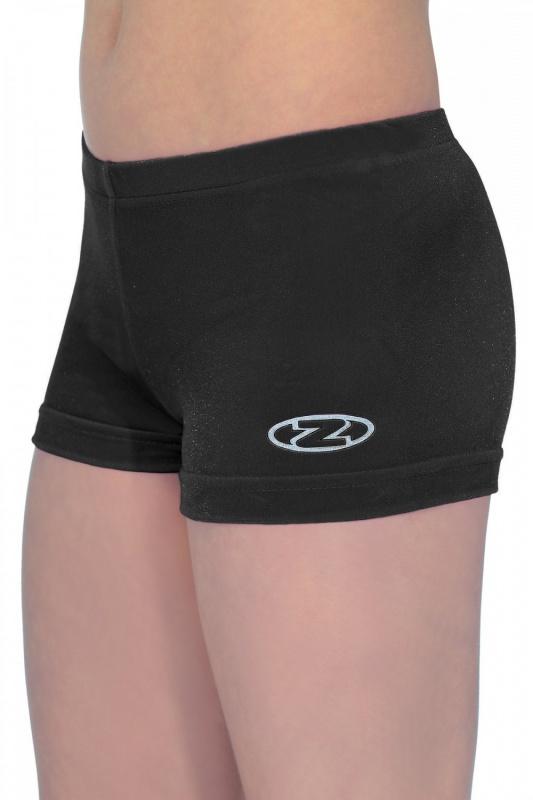 E3961 Folly Pink Velvet Shorts GK Gymnastics