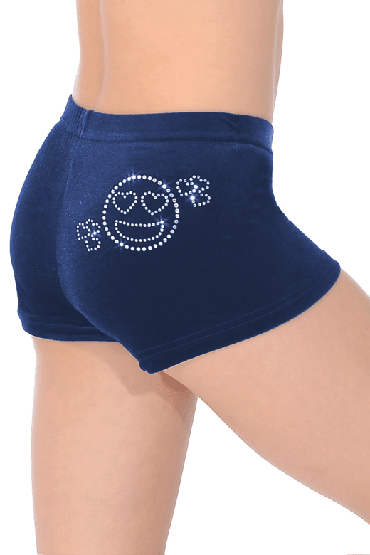 Smooth Velour Hipster Shorts SMI Motif