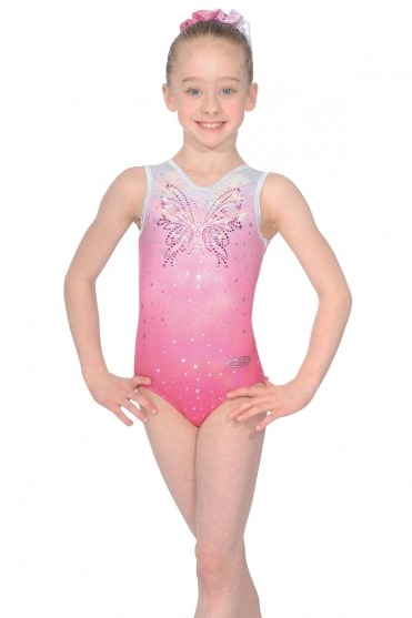 Soda Sleeveless Gymnastics Leotard