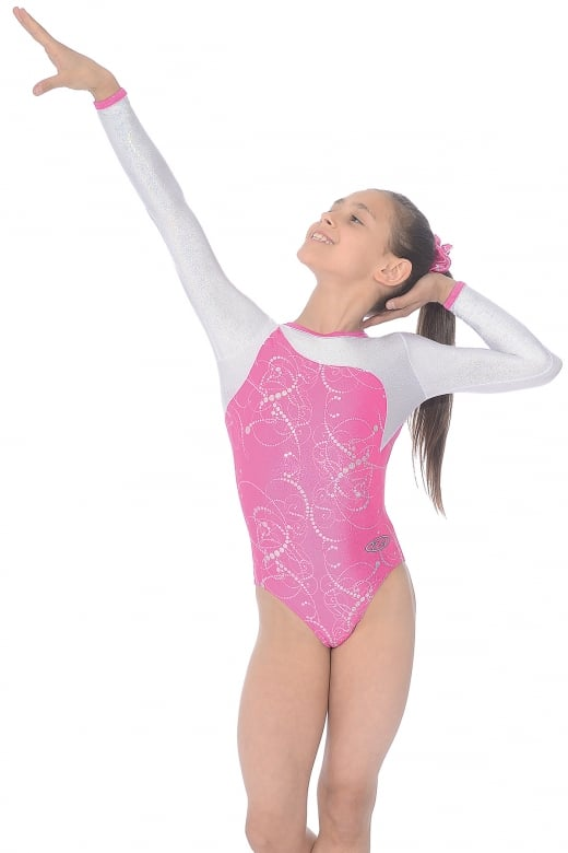 Sorbet Long Sleeved Gymnastics Leotard