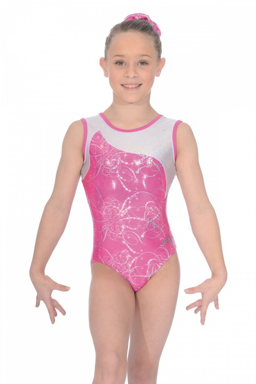 Sorbet Sleeveless Gymnastics Leotard The Zone