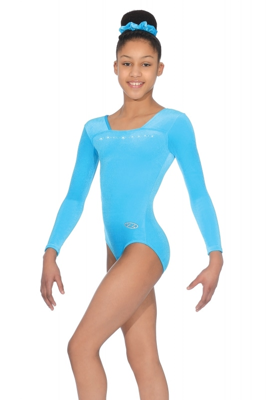 a0f3cde18 Sparkle Long Sleeved Gymnastics Leotard