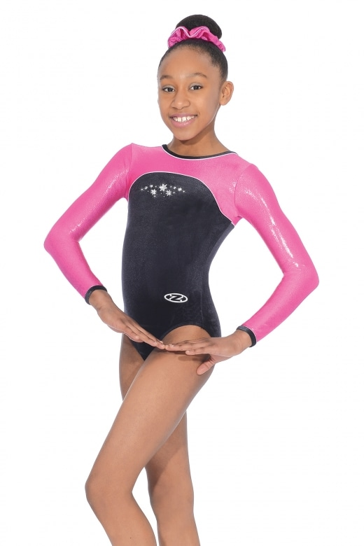 Star Long Sleeve Gymnastics Leotard