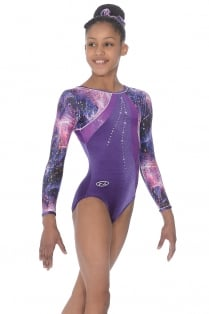 Twilight Long Sleeve Gymnastics Leotard