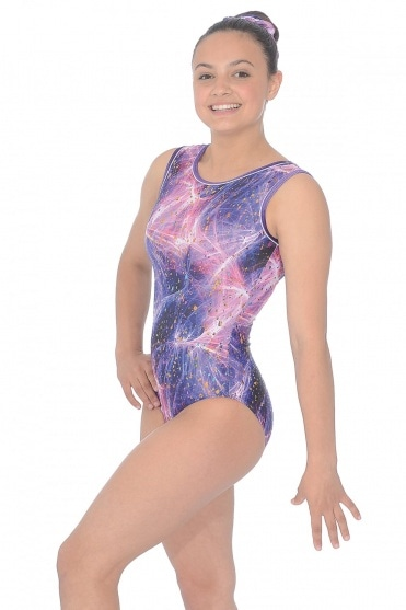 Twilight Print Gymnastics Leotard