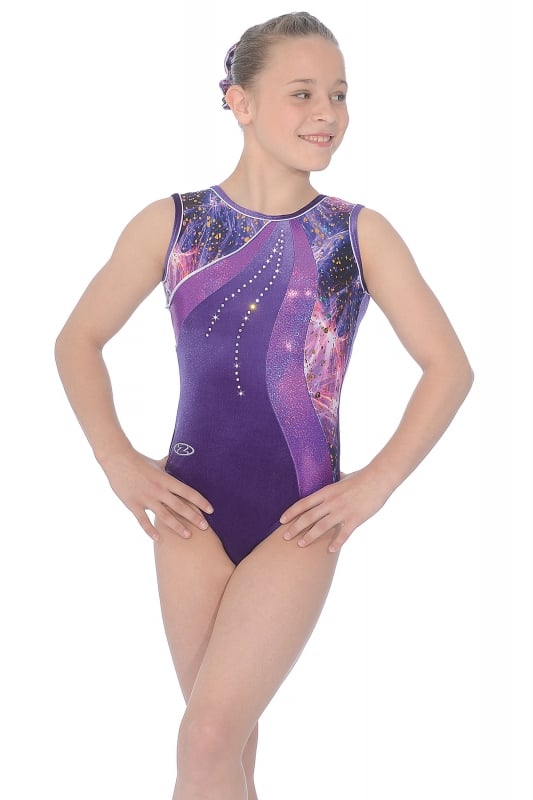 Twilight Sleeveless Gymnastics Leotard | The Zone