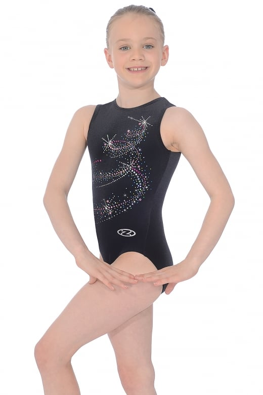 Twist Sleeveless Gymnastics Leotard