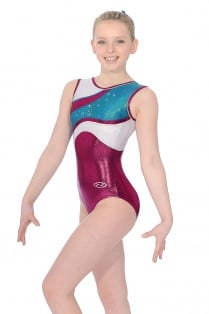 Venus Sleeveless Gymnastics Leotard