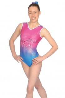 Vienna Sleeveless Gymnastics Leotard
