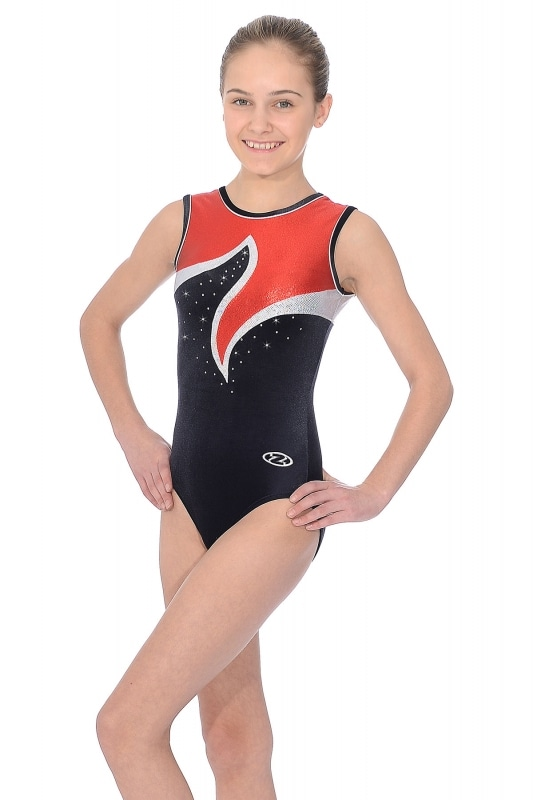 Viva Sleeveless Gymnastics Leotard | The Zone