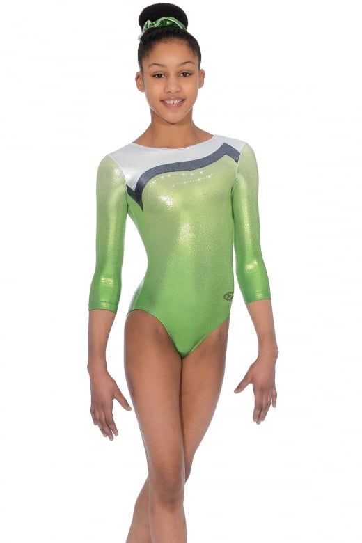 Whisper 3/4 Sleeve Gymnastics Leotard