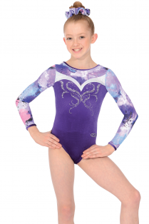 Zen Long Sleeve Gymnastics Leotard