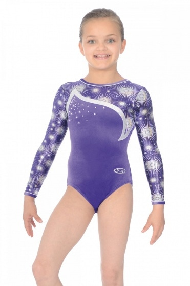 Zodiac Long Sleeve Gymnastics Leotard