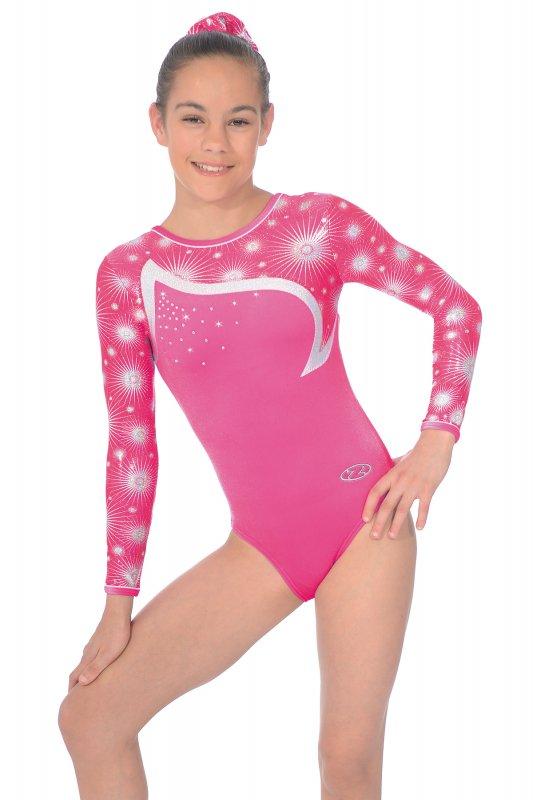 bfea67a18a88 Zodiac Long Sleeve Gymnastics Leotard