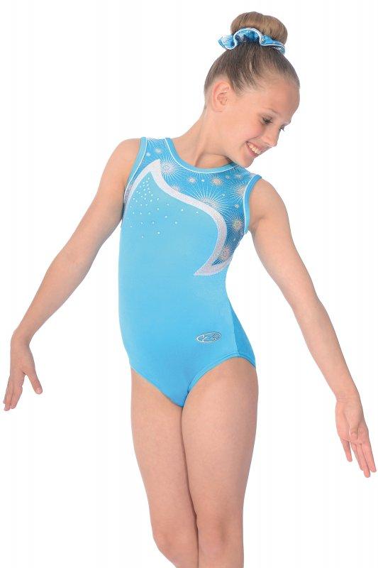 1e224797e11a Zodiac Sleeveless Gymnastics Leotard